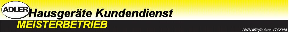 A.DLER Hausgeräte Kundendienst